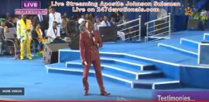 Live Streaming With Apostle Johnson Suleman