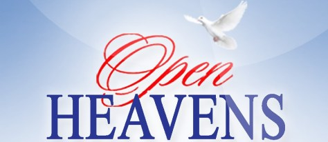 Open Heavens Devotional 3rd September 2018