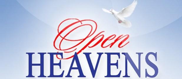 Open Heaven 5 August 2018
