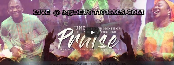 Dunamis Live Sunday JUNE 2018 ANOINTING SERVICE 10.06.18