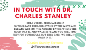 In Touch With Dr. Charles Stanleys