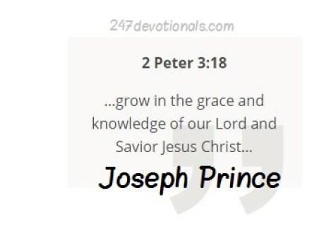 Joseph Prince Devo