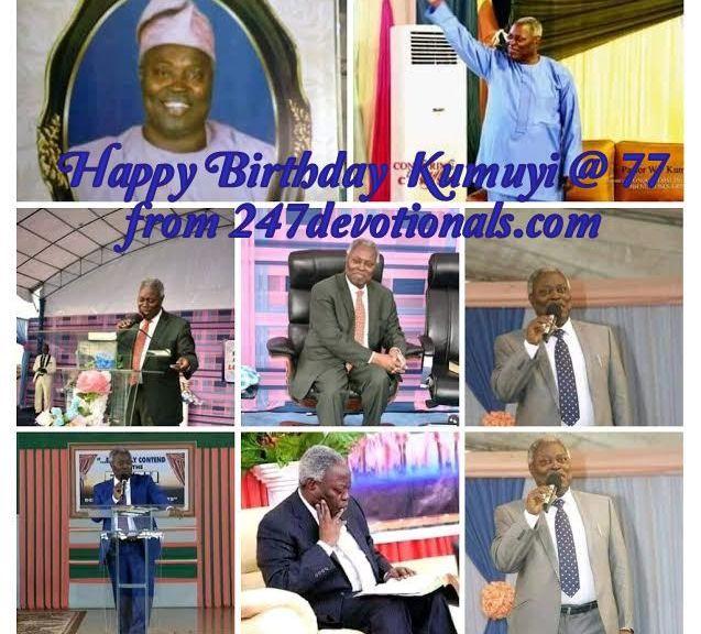 Kumuyi at 77 years
