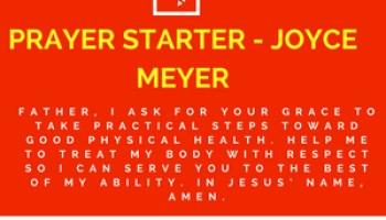 PRAYER STARTER - JOYCE MEYER