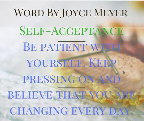word by Joyce MEYER