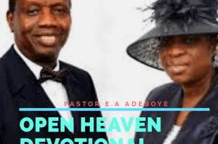 Open heaven devotion