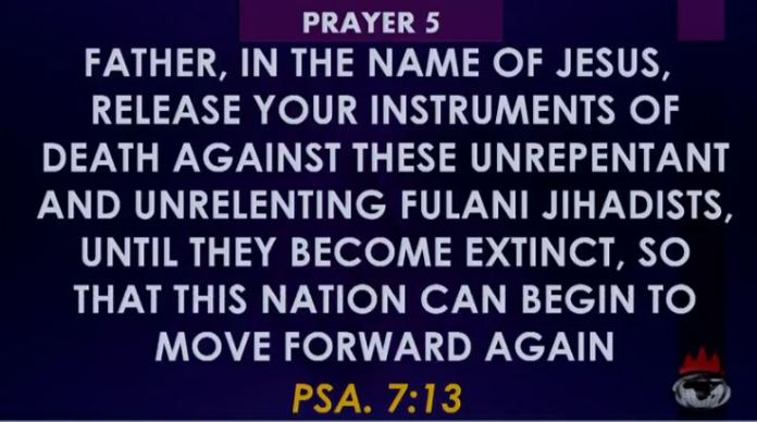 Winners Prayer 5 Towards Rescue of Nigeria