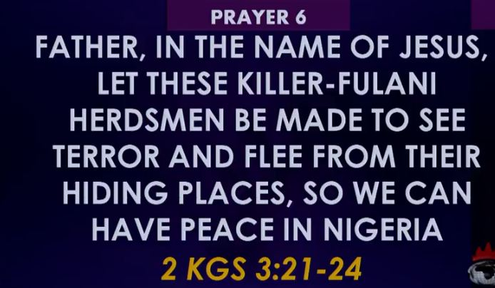 Winners Prayer SIX 6 Towards Rescue of Nigeria