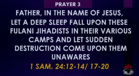 Winners Prayer 3 Towards Rescue of Nigeria