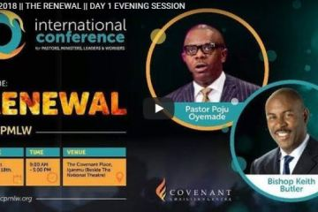 RCCG LIVE ICPMLW 2018 THE RENEWAL