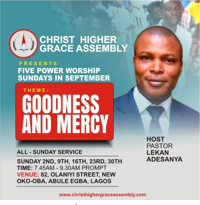 Christ Higher Grace Assembly (AKA House of Higher Grace)