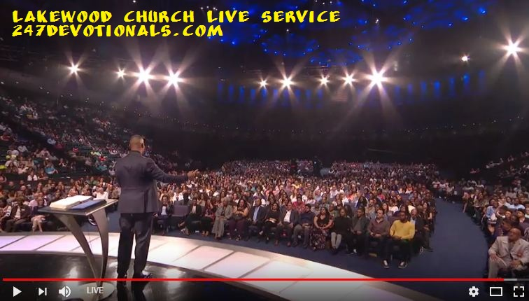 Lakewood Church 7 PM Service