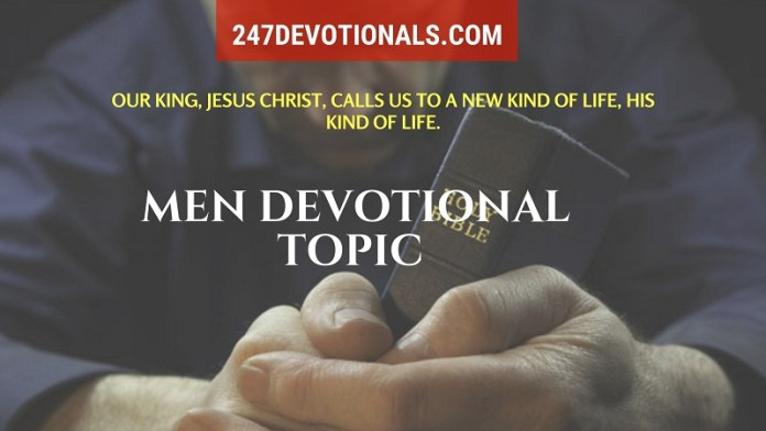 Men Devotional Topic 247devotionals.com