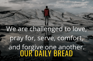 Our daily bread devotion