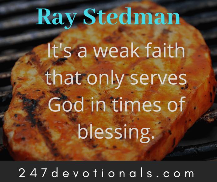 Ray Stedman devotion