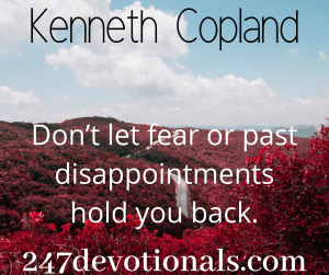 Kenneth Copland devotion