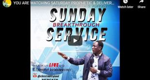 LIVE STREAM SATURDAY PROPHETIC & DELIVERANCE Christ Mercyland