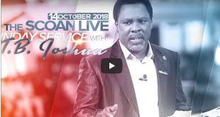 SCOAN LIVE Sunday Service October 2018