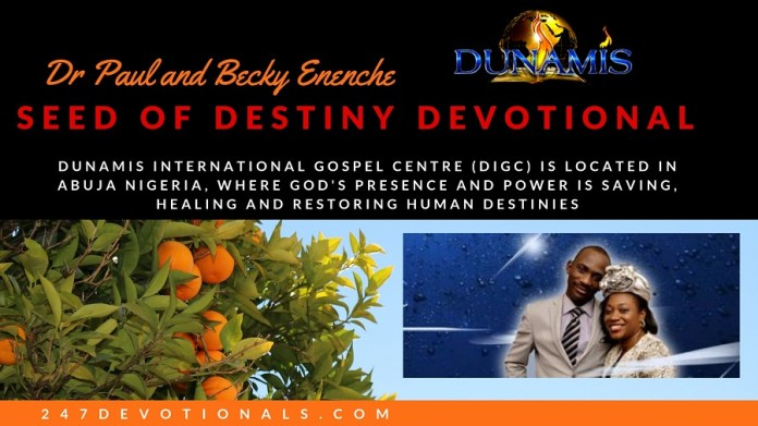Seed of destiny Dr Paul Enenche