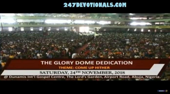 Choir Ministration Glory Dome