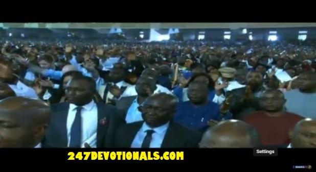 Floor ground Dunamis Church Abuja Glory Dome