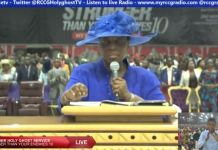 Folu Adeboye Prayer for Nigeria at Novenmber Holy Ghost Service
