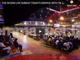 LIVE Sunday Service At The SCOAN With T B Joshua November 25 2018