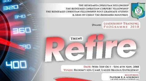 Live DAY 1-4 RCCG RCF CONVENTION 2018 247devotionals.com