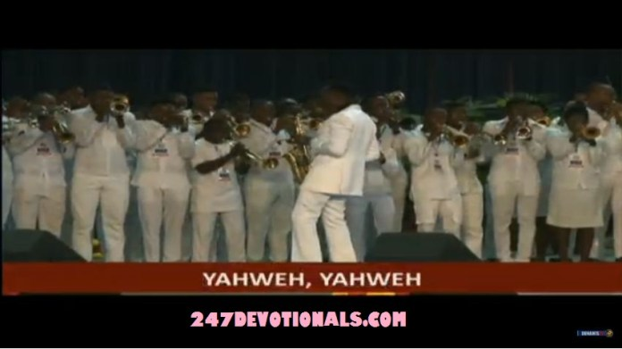Pastor Paul Enenche Glory Dome Dedication Saxophone playing