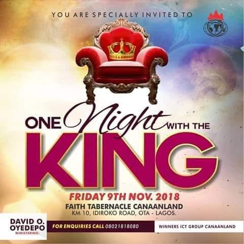 Winners Church Live One Night With The King Vigil 247devotionals.com
