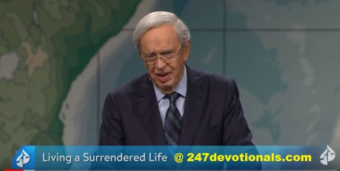 Live Teaching Living A Surrendered Life Dr. Charles Stanley