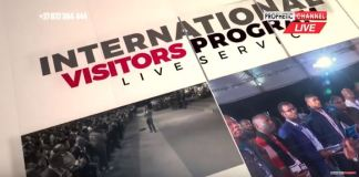 First International Visitors Program In RSA LIVE With Major 1