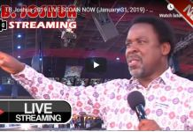 TB Joshua 2019 LIVE SCOAN NOW (January 31 2019)