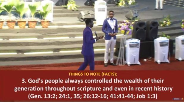 BUSINESS & FINANCIAL IMPARTATION: DAY 4 MORNING Dr Paul Enenche