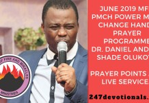 Dr. Daniel and Sis. Shade Olukoya mfm phch June 2019