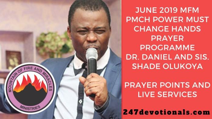 Dr. Daniel and Sis. Shade Olukoya mfm phch June 2019