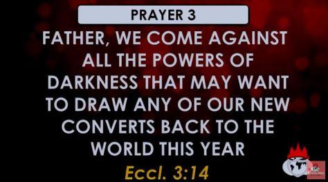 David Oyedepo prayer point
