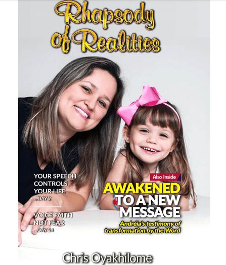 Rhapsody of realities devotional online and pdf