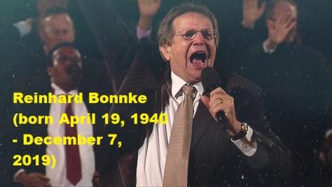 Evangelist Reinhard Bonnke Death
