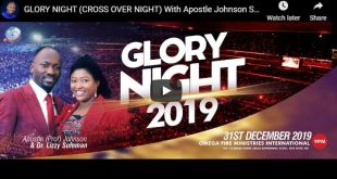 CROSS OVER NIGHT) With Apostle Johnson Suleman