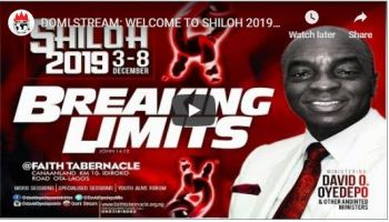 Shiloh 2019 Live Streaming Programme Schedule