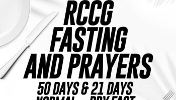 FIFTY DAYS FASTING & PRAYER GUIDE