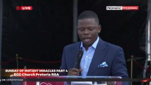 LIVE Major 1 Ministering
