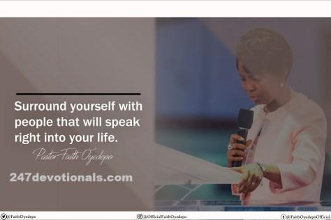 Pastor Faith Oyedepo Daily