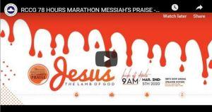rccg marathon praise