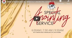 David Oyedepo SPECIAL MONTHLY ANOINTING SERVICE