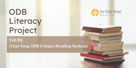 Our Daily Bread Literacy Project