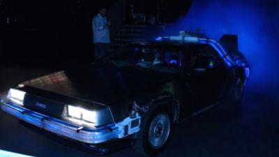 DeLorean Back to the Future, DeLorean huren, Bedrijfsfeest, Back to the Future, Replica DeLorean Time Machine