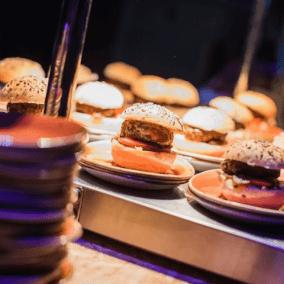 Catering bedrijfsfeest.geen voedselverspilling