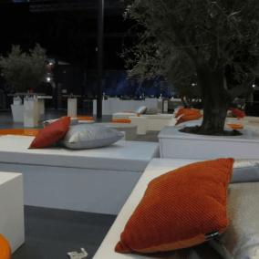 Decoratie bedrijfsfeest,lounge